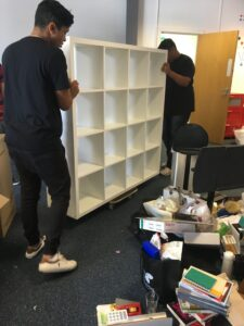 office furniture removal london