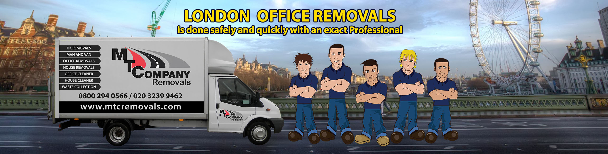 london office removal company