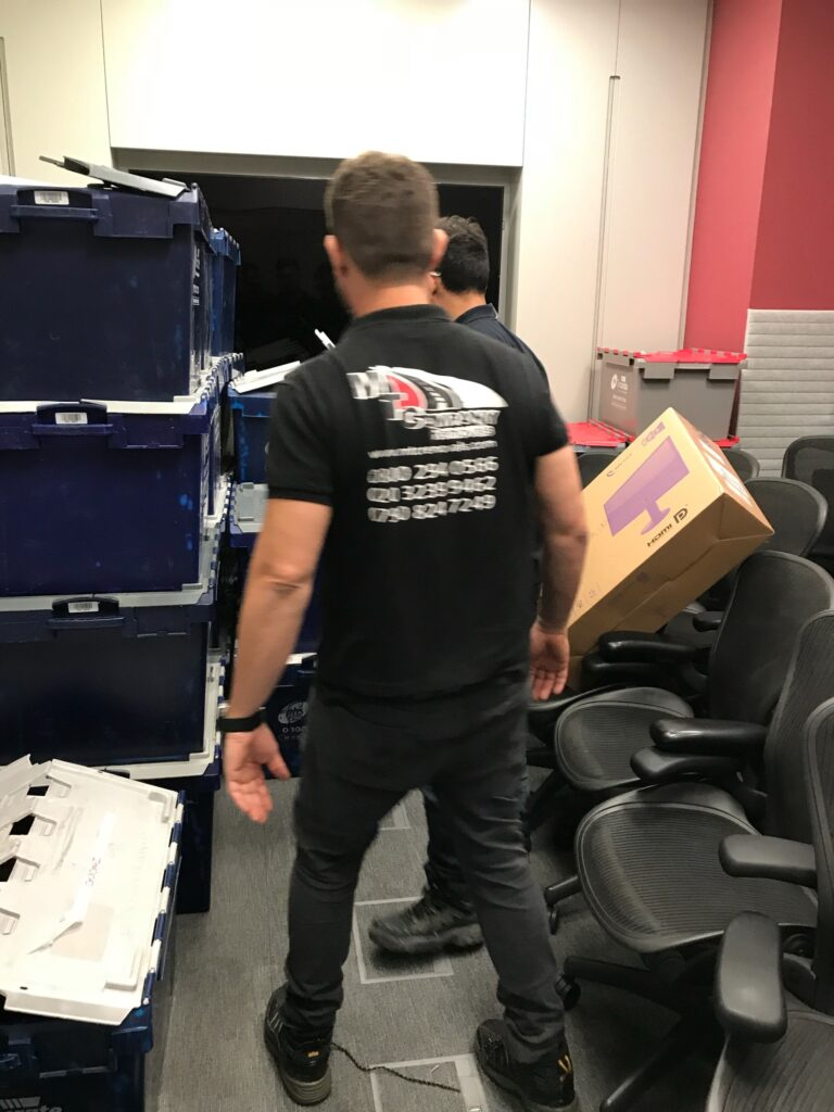 office furniture movers london